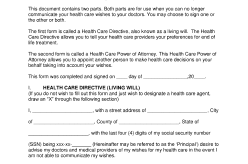 Executive Department HHS Forms preview